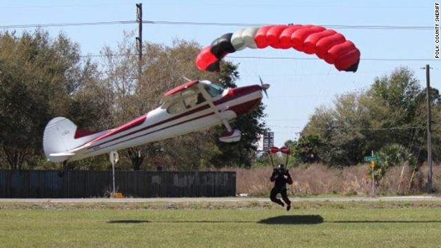 Plane collides with skydiver midair