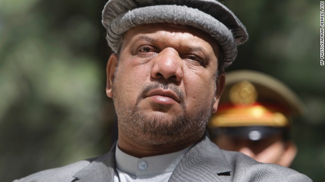 Afghanistan will begin three days of mourning starting Monday for the death of Mohammad Qasim Fahim, pictured in a 2011 file photo. Qasim was the country's first vice president.