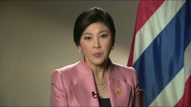ONLY ON CNN: Thai PM comments on crash