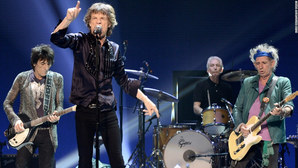 The Rolling Stones clock in at No. 5 with 2013 earnings of $26,225,121.71.