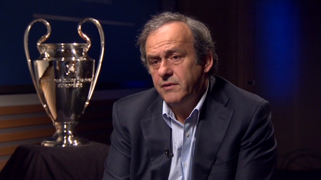 Platini: Goal line technology too expensive