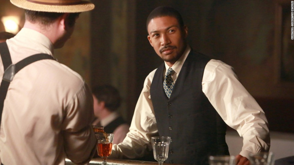 "Vampires are supposed to be white guys, right? Not on the TV series ""The Originals,"" which features Charles Michael Davis as the charming but deadly Marcel."