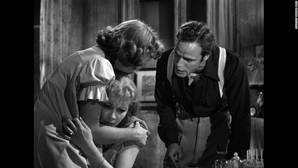 "A 1951 version of ""A Streetcar Named Desire"" starred Kim Hunter, Vivien Leigh and Marlon Brando."