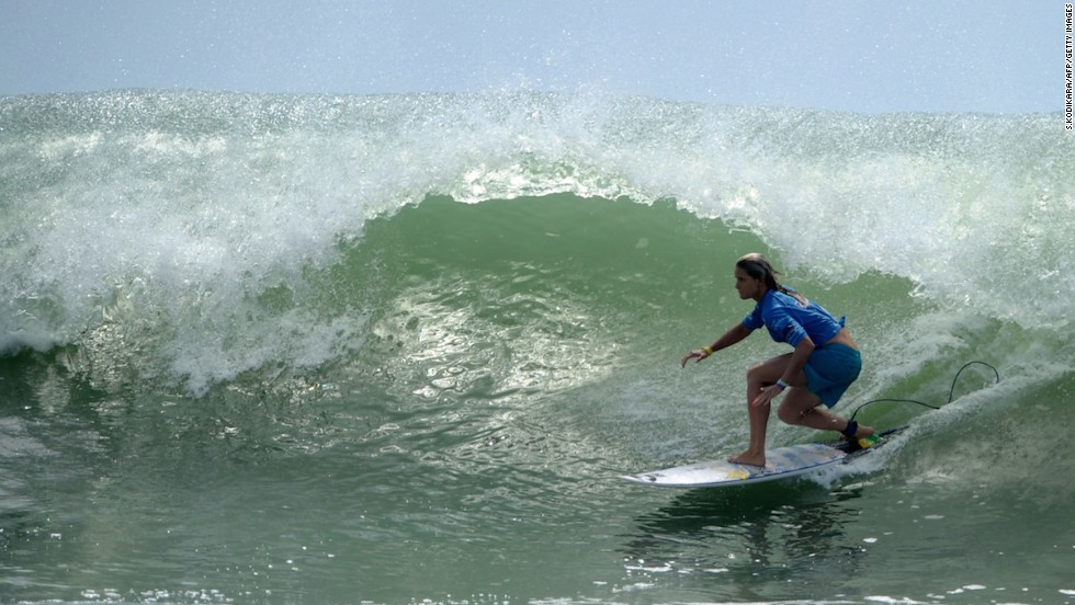 Sri Lanka's reputation as a surfing destination has surged in recent years. The country's Ahangama beach is famous for its waves.