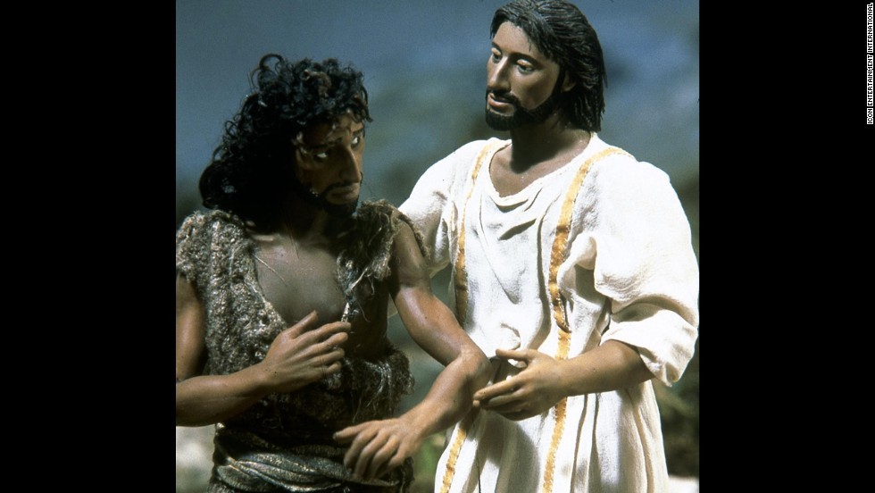 "In 2000, a very different look at the life of Jesus arrived in the form of a stop-motion film called ""The Miracle Maker."" Ralph Fiennes was the voice of Jesus, and everything about the story of Jesus' adult life, from the beginning of his ministry to his resurrection, was told through this unique animation."