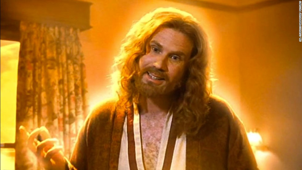 "Molly Shannon's 1999 comedy ""Superstar"" isn't about religion or Jesus Christ, but Will Ferrell's portrayal of him in a dream sequence is infamous. When Ferrell's hippie, long-haired Jesus appears to Shannon's Mary Katherine Gallagher, they bond over her CD player."