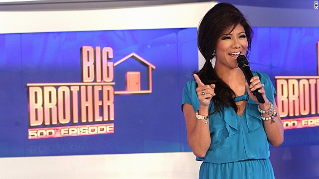 "Host Julie Chen appears on a September 2013 episode of ""Big Brother."""