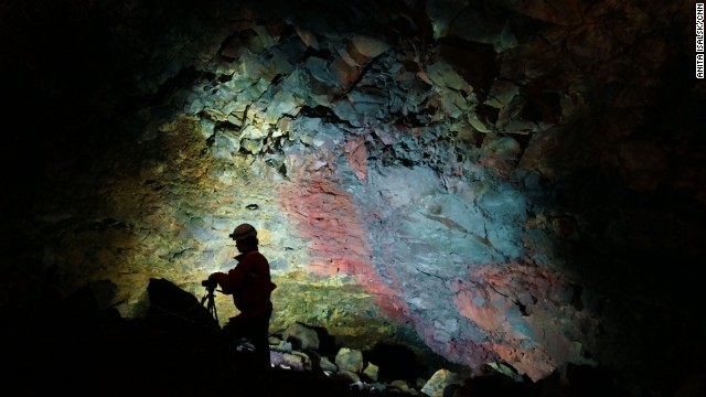 Cave explorer Dr Árni B Stefánsson discovered Thrihnukagigur's magma chamber in 1974. Stefánsson fought to open the chamber to visitors and has championed sustainable approaches to this project in numerous academic papers.
