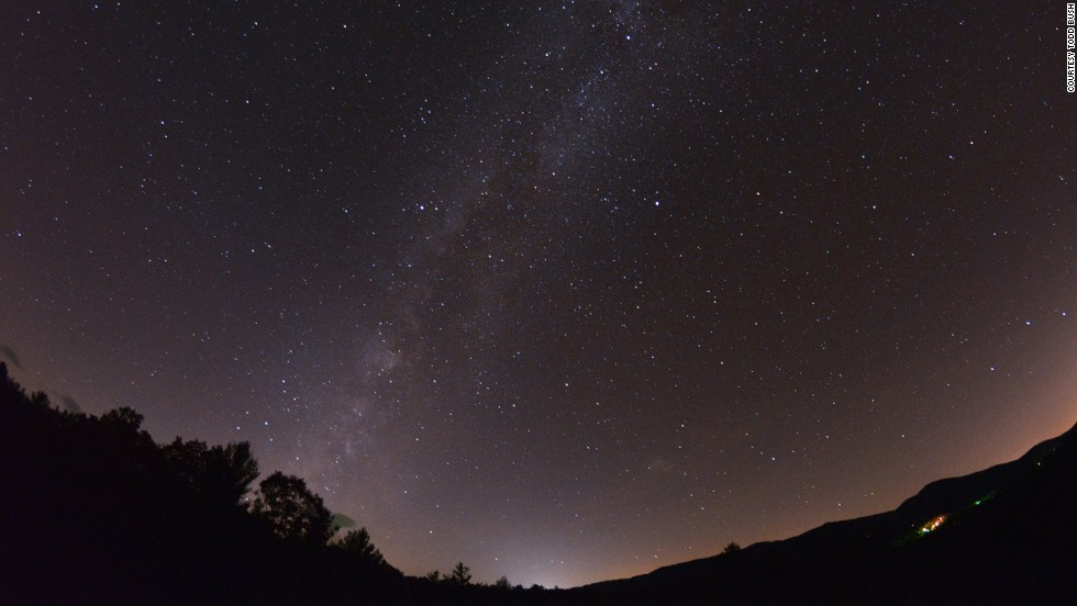 In the Blue Ridge Mountains of North Carolina, this new dark sky park is one of few places on the east coast to offer spectacular views of the Milky Way.