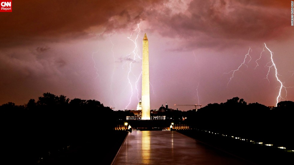 "Aspiring photographer <a href=""http://ireport.cnn.com/docs/DOC-844035"">Kevin Wolf</a> captured a photo of a lightning storm in Washington in September 2012. He says he caught this photo by keeping the shutter of his camera open for 60 seconds."
