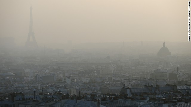 Global air pollution on the rise