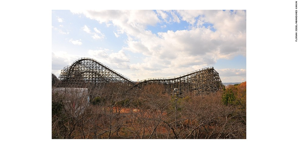 Urban explorer Florian Seidel has visited Nara Dreamland more than half a dozen times for his blog Abandoned Kansai. The park, built in 1961, shut its doors in 2006. It's become one of the most popular destinations for Japan-based urban explorers.