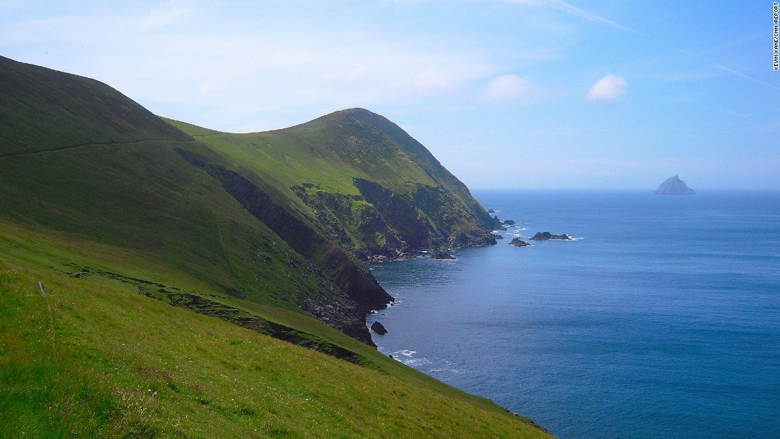 Uninhabited Great Blasket Island is accessible by ferry from the Dingle Peninsula. Before the last handful of residents left in 1953, the island was home to several celebrated writers.