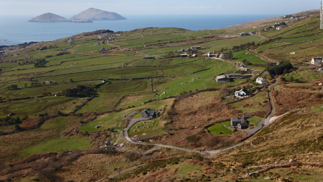 "The Ring of Kerry is ""a must for any trip to Ireland, with its spectacular views all along the way,"" said <a href=""http://ireport.cnn.com/docs/DOC-1100642"">Annie Love</a>. County Kerry is on the Republic of Ireland's southwest coast."