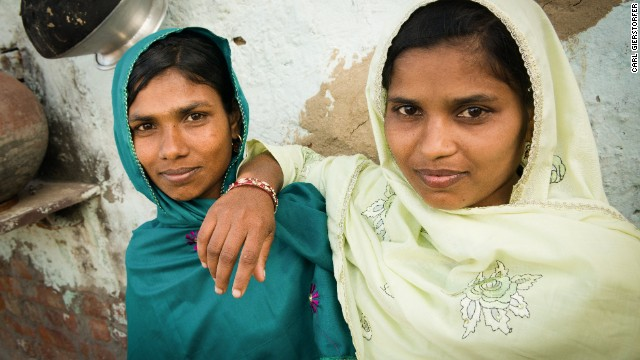 Akhleema and Tasleema, two sisters from Kolkata in India's east, were sold as brides in Haryana state, in western India.