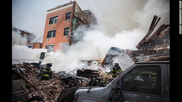 Mayor: 3 dead, 10 missing in explosion