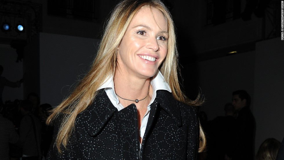 Elle Macpherson is a super model of aging well.