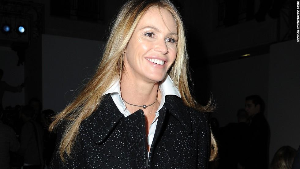 Elle Macpherson is a super model of aging well.