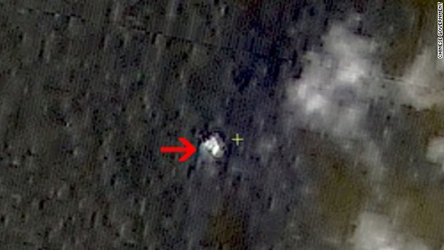China Satellite Images may show missing plane. http://www.sastind.gov.cn