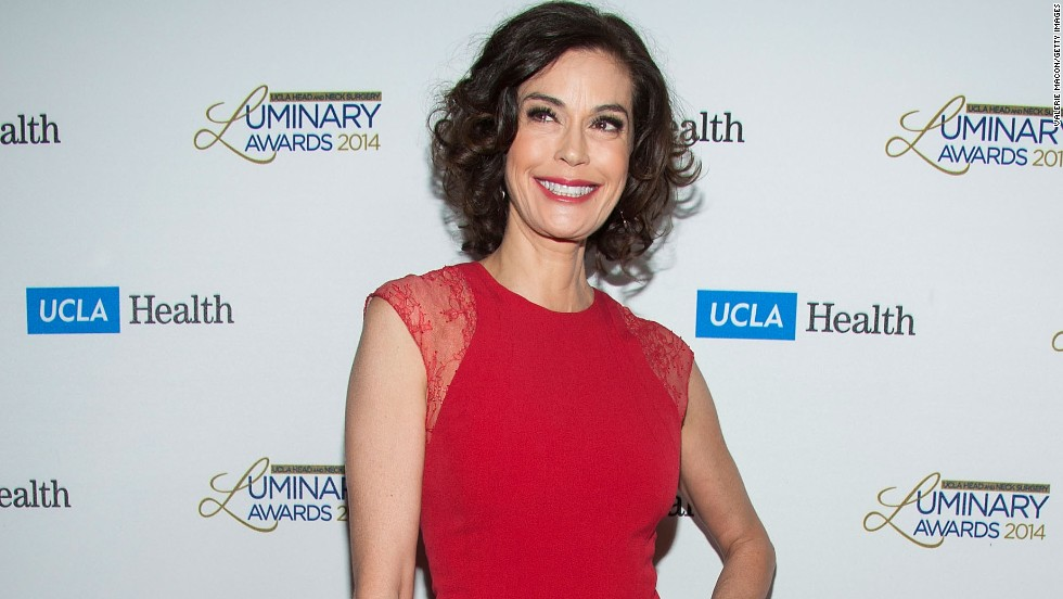 """Desperate Housewives"" star Teri Hatcher turns 50 in December."
