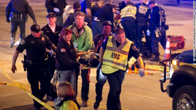 Suspected drunk driver plows SXSW crowd