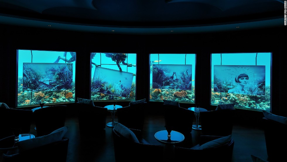"Titled ""Phantasy Fairytale,"" the exhibit can be seen from Huvafen Fushi resort and NIYAMA resort's underwater club, Subsix."