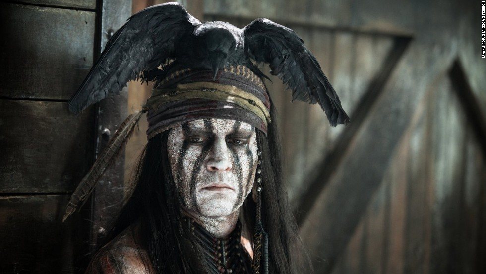 "Johnny Depp played Native American sidekick Tonto in the 2013 film  ""The Lone Ranger."" He was criticized <a href=""http://gawker.com/5906868/johnny-depps-tonto-is-based-on-a-white-mans-painting-of-an-imaginary-native-american"" target=""_blank"">as soon as the image appeared.</a>"