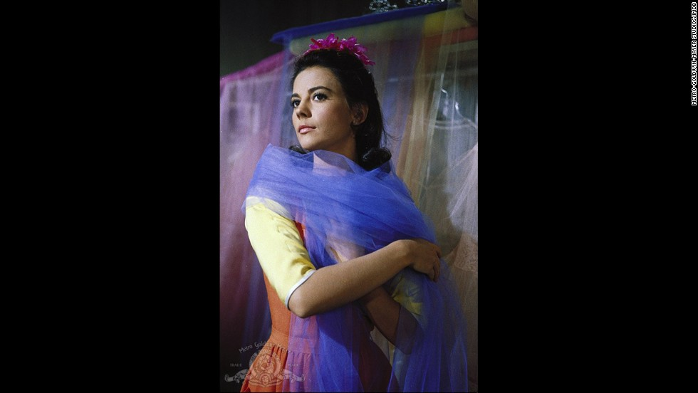"Natalie Wood played Maria, a Puerto Rican character, in the 1961 musical film ""West Side Story."""