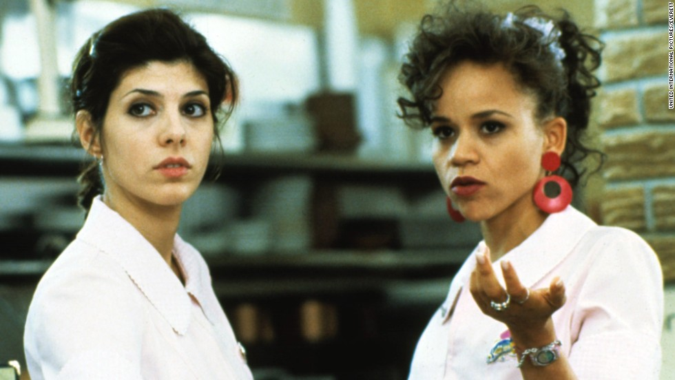 "Rosie Perez starred with Marisa Tomei in 1993's ""Untamed Heart."""