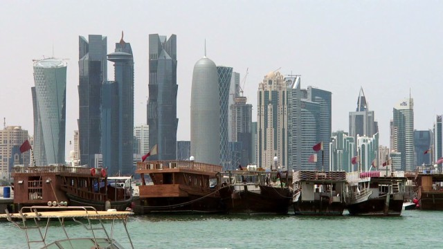 Qatar in hot water