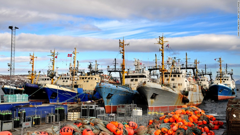 The Norwegian port of Kirkenes is home to the Russian Barents Sea fishing fleet. Russian revolutions, czars and Finnish migrants have all left their mark here.
