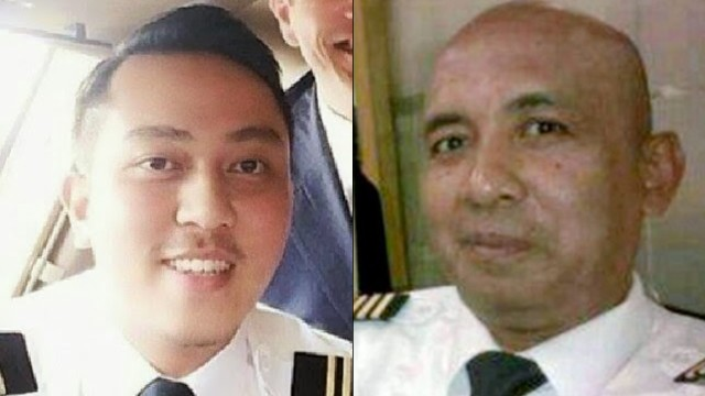 The pilots of Malaysia Airlines flight MH370 are First Officer Gambar Fariq Abdul Hamid, left and Captain Zaharie Ahmad Shah, right. The Boeing 777 that they were flying has been missing for 8 days.