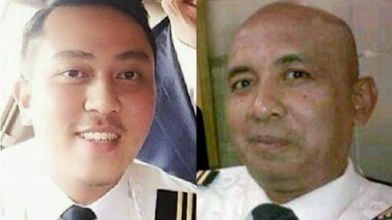 Who were the pilots flying Malaysia Airlines Flight 370?