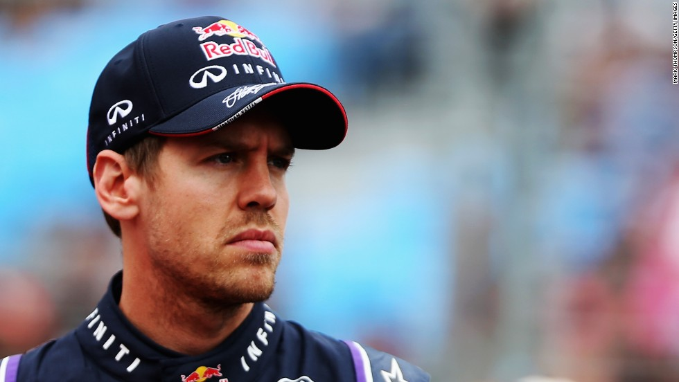 It was a gloomy opening to the season for four-time defending champion Sebastian Vettel after he was forced to retire early in his Red Bull.