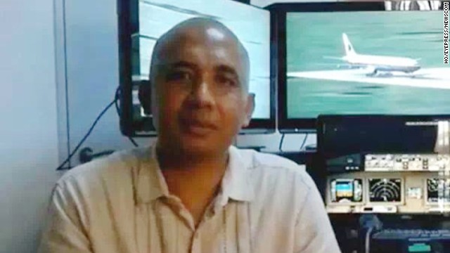 A file photo of Malaysia Airlines fight MH370 pilot Zaharie Ahmad Shah. Police searched the luxury home of pilot Zaharie Ahmad Shah on Saturday after it was revealed the missing Malaysia Airlines flight MH370 turned back from its scheduled flight path over the South China Sea and flew for more than seven hours with its communication tracking device disabled. Police were examining an elaborate flight simulator taken from the home of pilot Zaharie Ahmad Shah.  Photo via Newscom