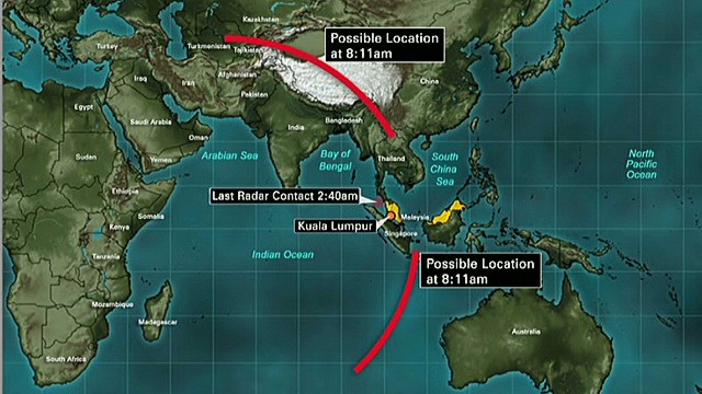 More countries join Flight 370 search
