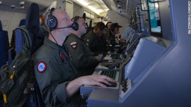 Who was in command of missing airplane?