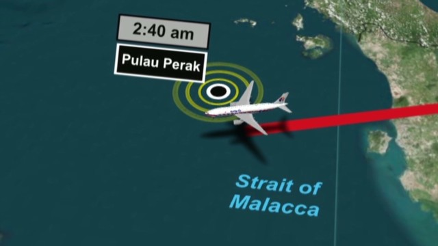 Tracking Malaysia Air flight 370