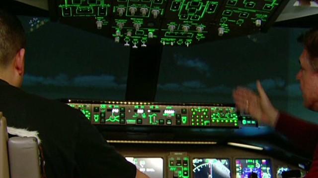 Did plane drop 5,000 ft. to avoid radar?