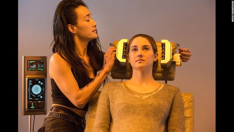 "Before announcing their chosen faction at the Choosing Ceremony, the students take an aptitude test that reveals their strongest value. The test is over when one value is isolated, but Tris doesn't fit into just one category, which makes her ""divergent."" Test results are supposed to be kept secret, which is doubly important in Tris' case: If she's discovered to be divergent, she'll be viewed as a threat to society."