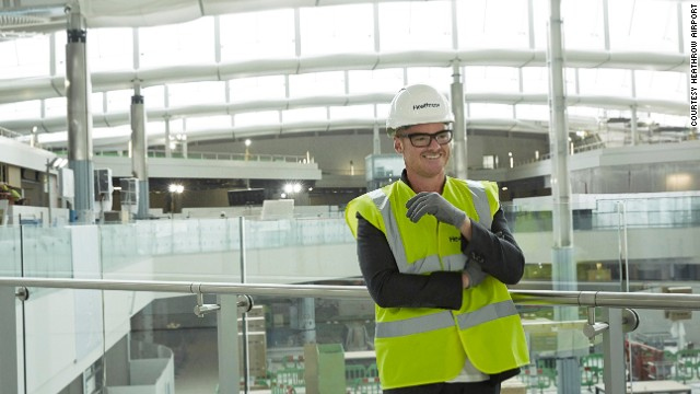 Heston Blumenthal's airport restaurant is due to open soon at London's Heathrow.