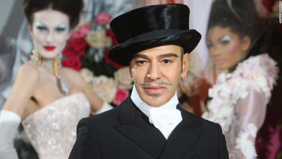 """I love Hitler,"" was about the tamest thing John Galliano said in an anti-Semitic rant caught on tape in 2011. As a result, Galliano was <a href=""http://www.cnn.com/2011/SHOWBIZ/celebrity.news.gossip/03/01/portman.galliano/index.html"">fired from fashion giant Christian Dior</a> and found guilty of making public insults based on origin, religious affiliation, race or ethnicity by a French court. In his trial, he said that alcohol and drugs were major factors, which he realized during a stint in rehab after he was fired."