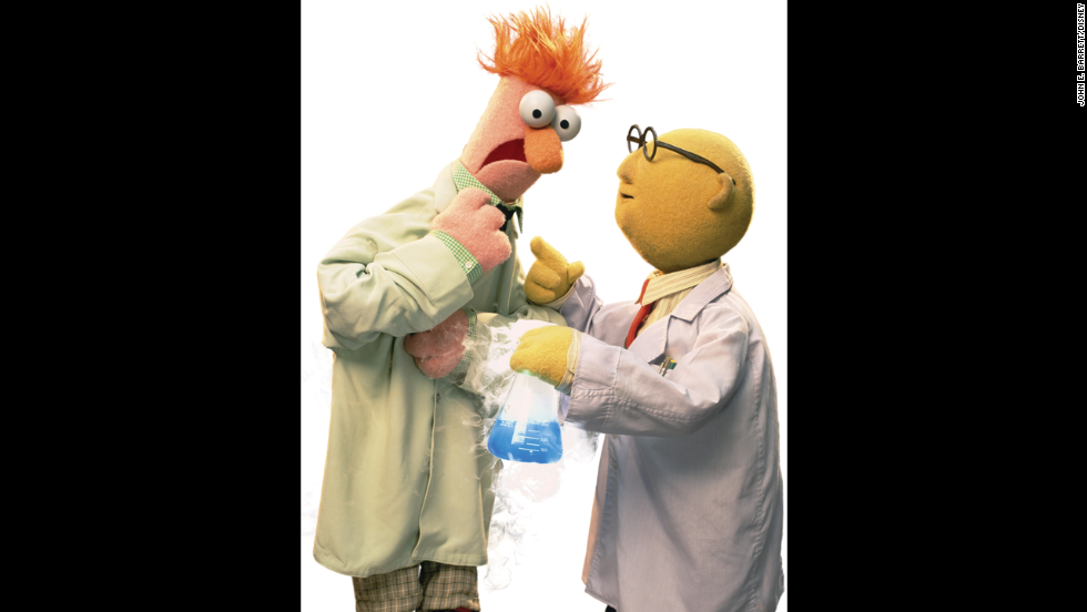 Either Beaker, left, or Dr. Bunsen Honeydew. These partners in scientific crime are usually up to something dangerously hilarious.