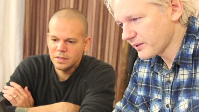 Rap duo collaborates with Assange
