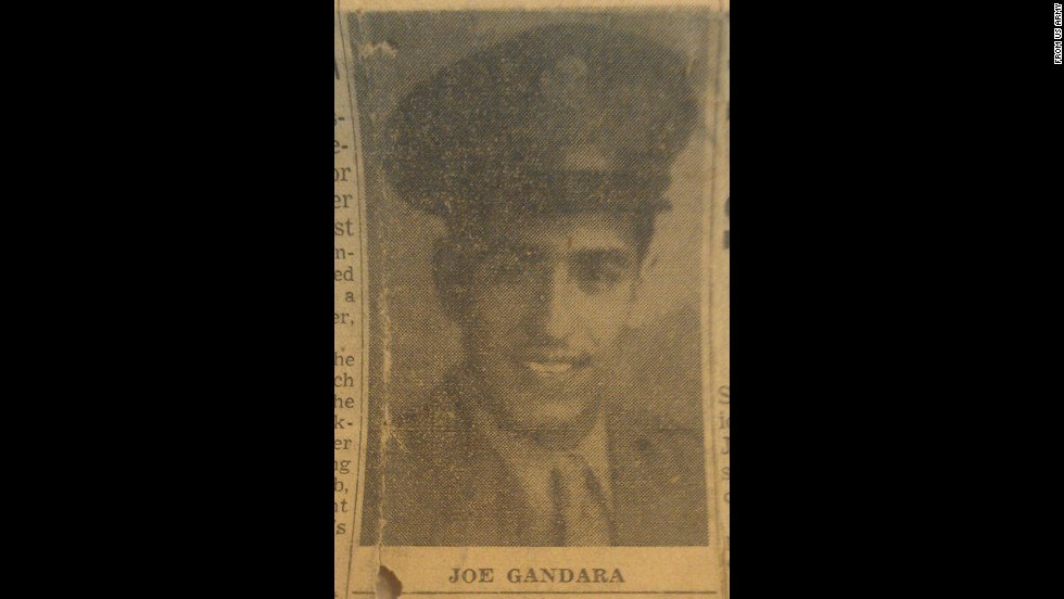 Pvt. Joe Gandara was recognized for heroic actions on June 9, 1944, in Amfreville, France, where his detachment came under enemy fire from German forces. The men were trapped for hours until Gandara advanced voluntarily and alone toward the German position, where he destroyed three machine gun positions before being fatally wounded.