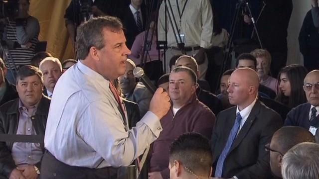Christie gets in heated healthcare debate