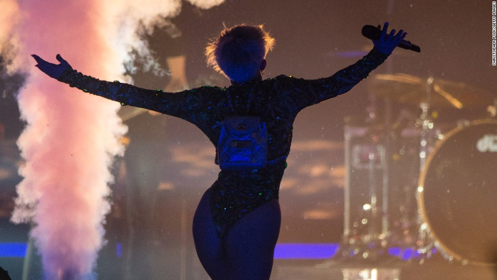 """<a href=""""http://music.ninemsn.com.au/blog.aspx?blogentryid=1177706&showcomments=true"""" target=""""_blank"""">Some parents were reportedly less than thrilled with the singer's provocative antics during her concerts. </a>"""