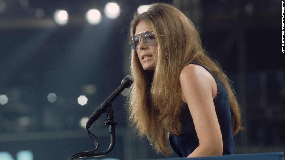 "Steinem speaks at the 1972 Democratic National Convention in Miami, where she nominated Frances ""Sissy"" Farenthold for vice president. Steinem co-founded the National Women's Political Caucus, which works to increase the number of women in the political field."