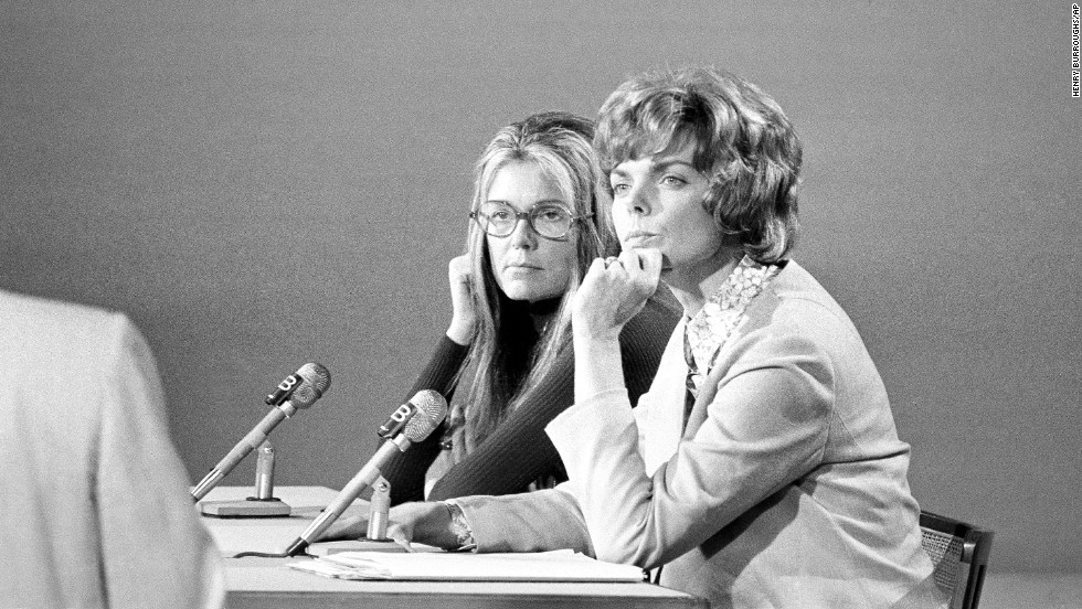 gloria steinem woman
