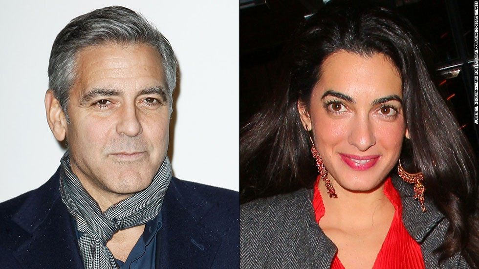 It looks like George Clooney's found the one. The actor has said he plans to marry British human rights attorney Amal Alamuddin in Italy this fall. Before Alamuddin, the debonair actor had an illustrious dating history -- just take a look: